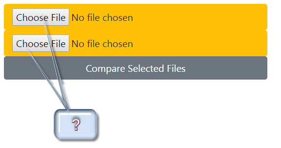 Select files to compare online